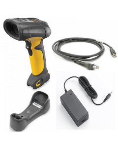 DS3578-ER Extended Range Barcode Scanner - Wireless 1D, 2D (Includes Cradle, Cable, Power Supply)