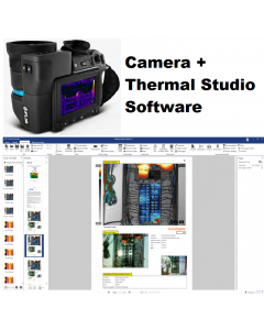 FLIR - T1020 IR Camera 1024 x 768 Resolution/30Hz w/45° Lens and NIST Calibration with FLIR Thermal Studio Pro - 12 Month Subscription
