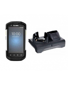 ZEBRA TC72 - MOBILE COMPUTER BARCODE SCANNER W/ CHARGER